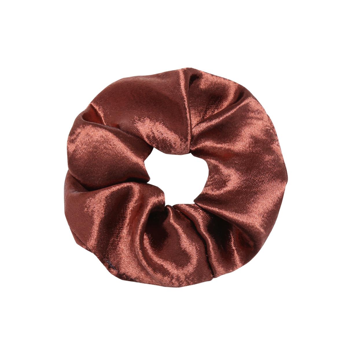 Scrunchie sweet as satin wine red