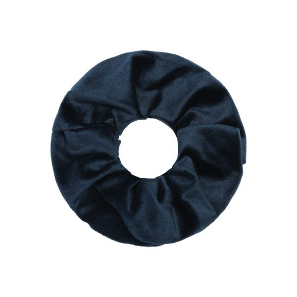 Scrunchie silky blue
