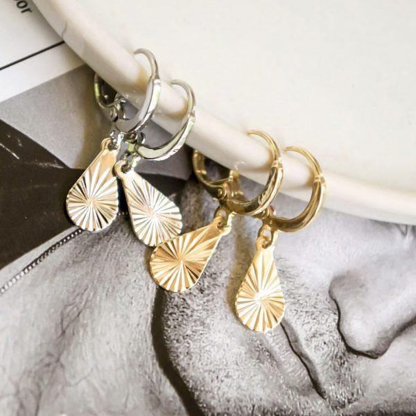 Handgemaakte oorbellen fancy drops