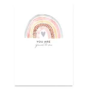 Sieraden kaartje 'you are special'