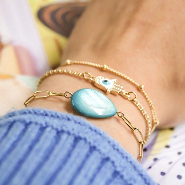 Handgemaakte armbanden setje