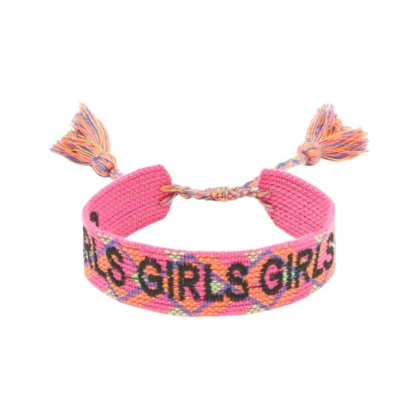 Handgemaakte armband girls multicolour