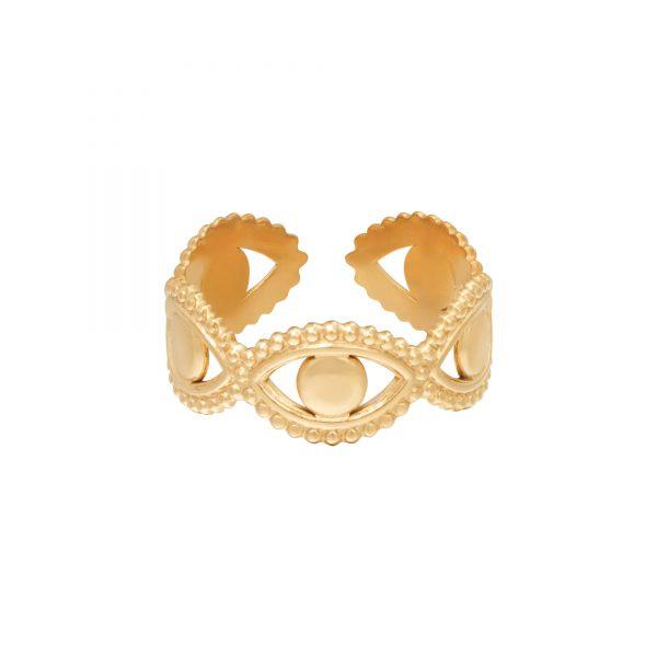 Ring in your eyes goud