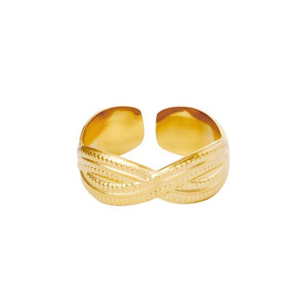 Ring the crown goud