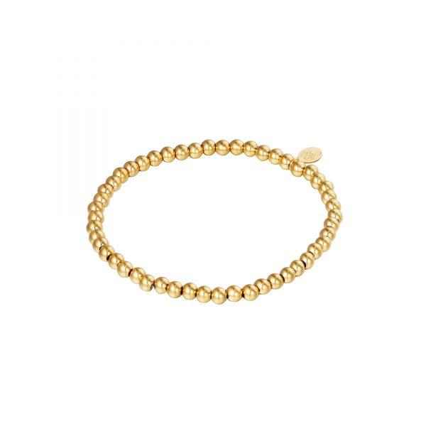 Handgemaakte armband golden oldies