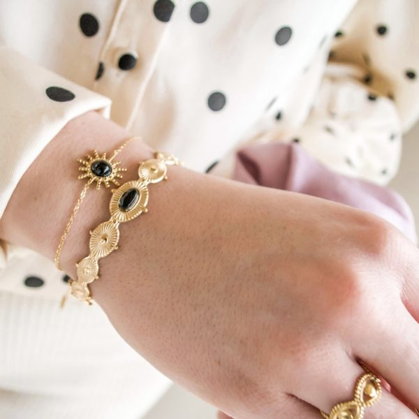 Handgemaakte armband elegant bangle