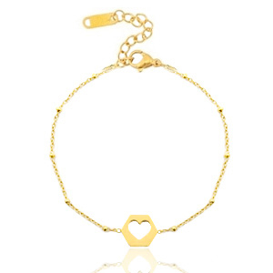 Handgemaakte armband all for love