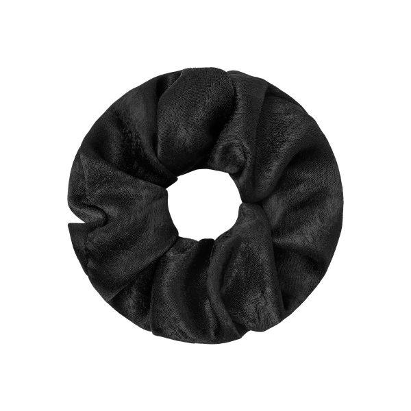 Scrunchie satin black