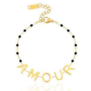 Armband AMOUR, goud